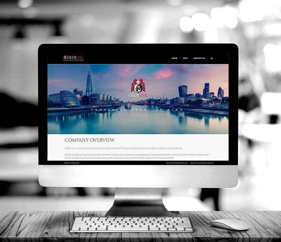 Olorisk Security Website